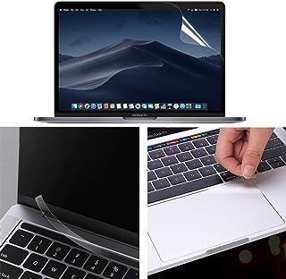 【3点セット】MacBook Pro 13インチ 2020用 ブルーライトカットフィルム 貼り付け失敗無料交換 液晶保護フィルム 超反射防止 映り込み防止 指紋防止 気泡レス 抗菌 アンチグレア