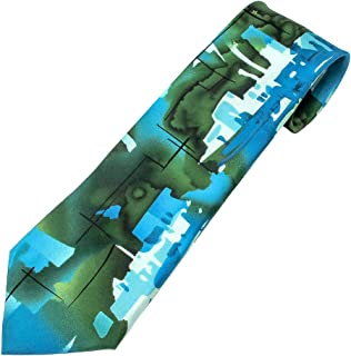 Jerry Garcia Extra Long XL Neck Tie Collection 70 Unknown Abstract