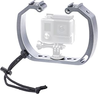 Sevenoak Aluminum Alloy Micro Film Making kit Video Cage Diving Rig Stabilizer SK-GHA6 & GoPro Mount Adapter for Action Ca...