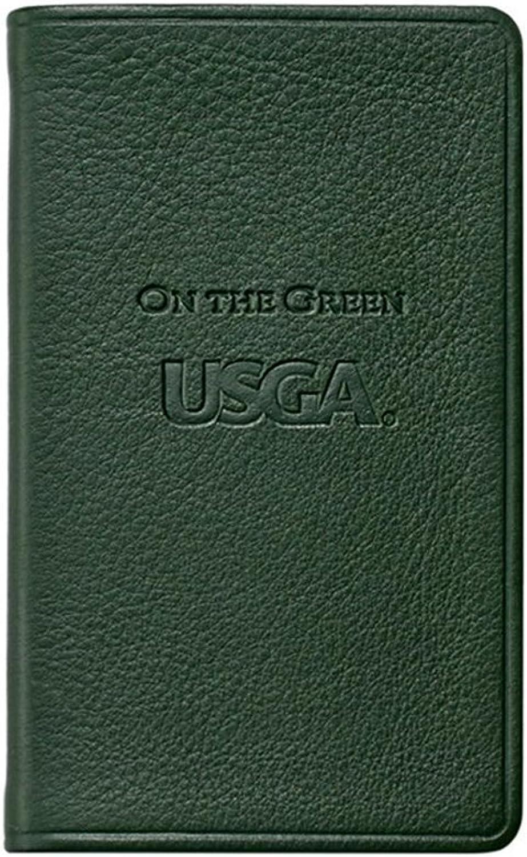 USGA On The Green, Genuine Calfskin Leather, 3  x 5