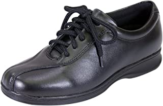 8bd3239a994c 24 Hour Comfort FIC Valerie Women Wide Width Oxford Lace Up Smart  Professional Shoes (Size