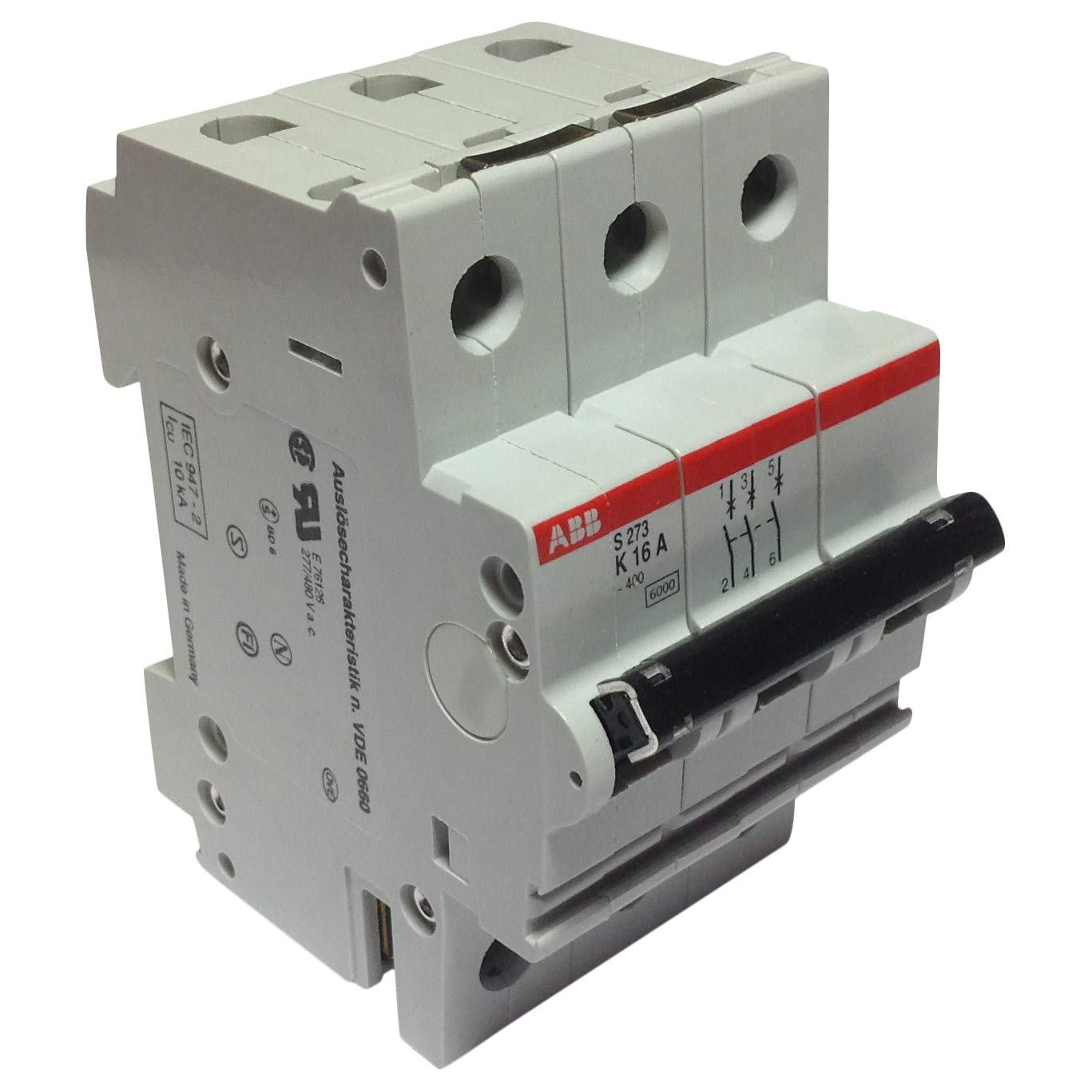 S273K16 ABB MCB 16A Circuit Shipping Finally resale start included 3P Breaker