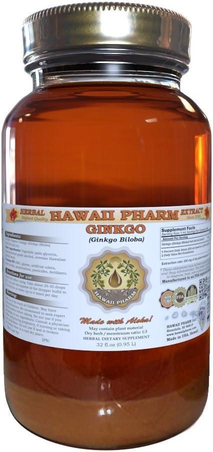 100% quality warranty Ginkgo Biloba Dried Leaf Liquid Extract oz 32 service