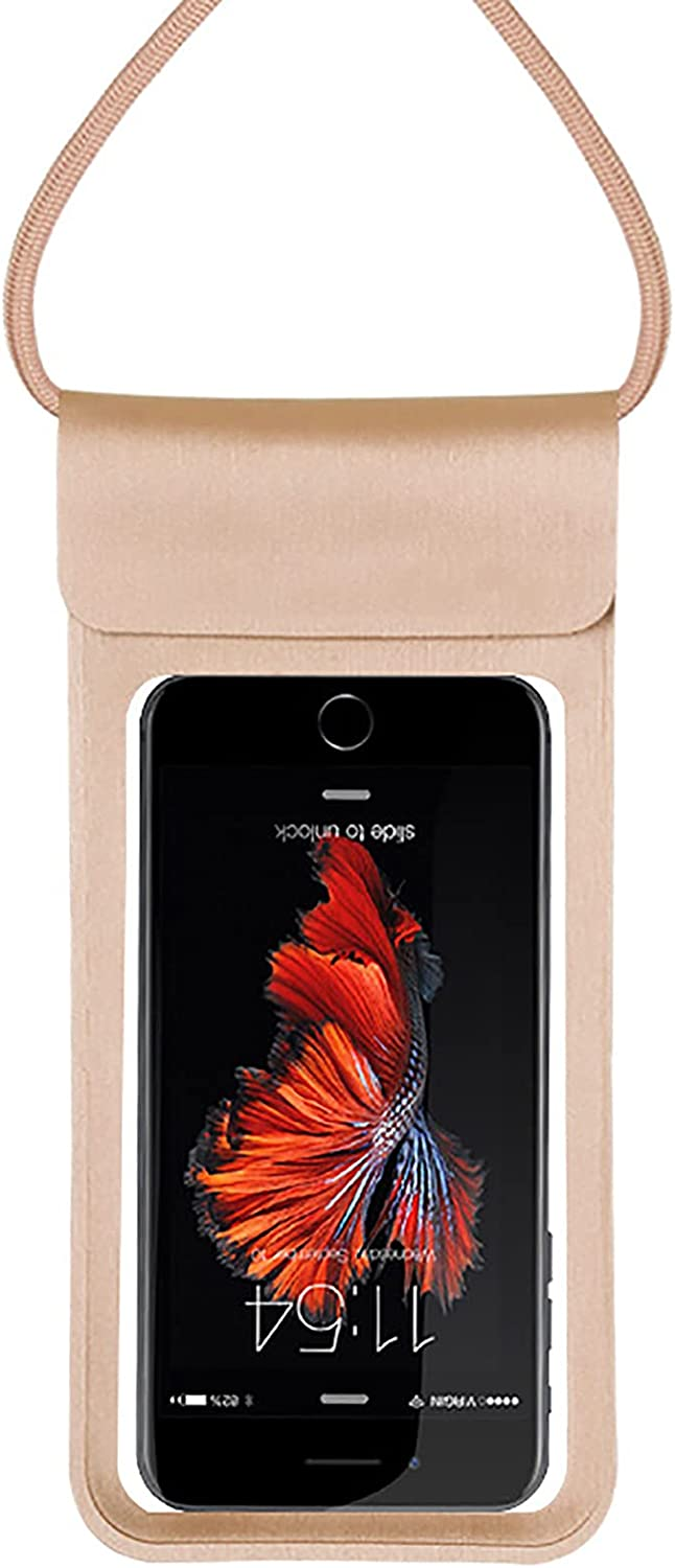 Anjing Waterproof Case Cell Phone Dry Bags Floating Phone Pouch Keep Your Phone and Valuables Safe and Dry Easy to Use Water Sports