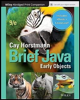Java Concepts, 9e Loose-Leaf Print Companion with Wiley E-Text Reg Card Set