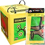 Morrell Targets Double Duty 450FPS Archery Bag Target Cover Replacement (Cover Only), Green/Yellow, (Model: 131RC)