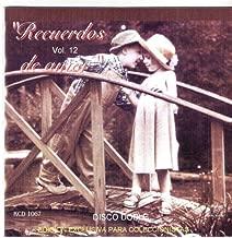 Recuerdos De Amor Vol,12 Varios Artistas[import] 2 Cd's.edicion De Collecion.