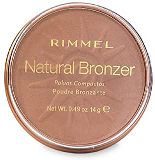Rimmel London Natural Bronzer, Sun Bronze [022] 0.49 oz (Pack of 2)