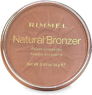 Rimmel London Natural Bronzer, Sun Bronze [022] 0.49 oz (Pack of 3)