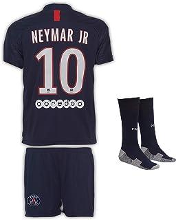Paris Neymar #10 2020/21 Heim Trikot Shorts und Socken Kinder und Jugend Größe