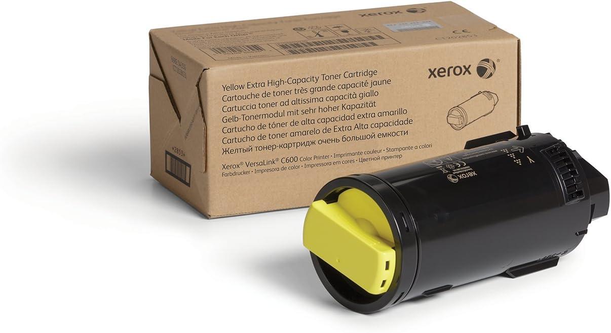Xerox VersaLink C600 Yellow Extra High Capacity Toner-Cartridge (16,800 Pages) - 106R03918
