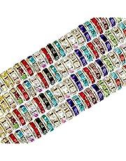 SAVITA 200 Stuks 8 mm Kristallen Kralen voor Armband Ketting Sieraden Maken Decoraties