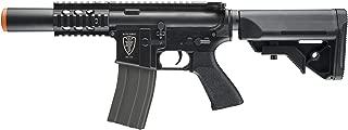 Elite Force M4 AEG Automatic 6mm BB Rifle Airsoft Gun, CQC, Black (Renewed)