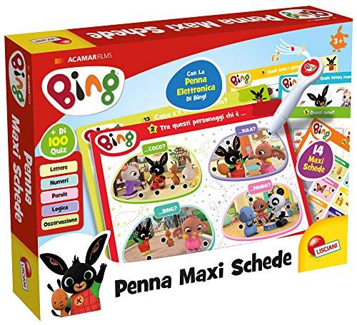Lisciani Giochi - Bing Penna Maxi Schede Gioco per Bambini, 76871
