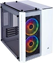 CORSAIR Crystal 280X RGB Micro-ATX Case, 2 RGB Fans, Lighting Node PRO Included, Tempered..