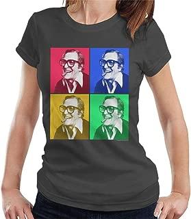 Michael Caine Cigar Pop Art Women's T-Shirt