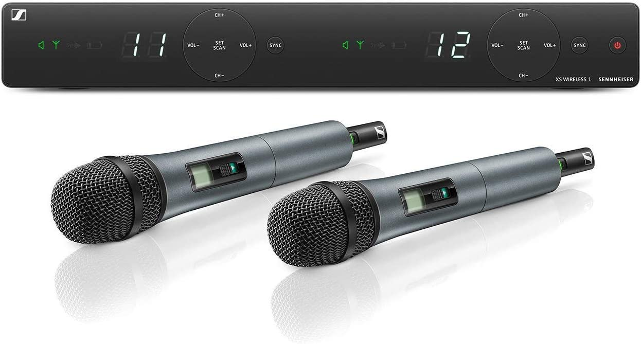 Excellence Sennheiser XSW 1-825 Max 73% OFF DUAL-A Channel System Wireless Microphone