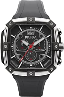 Brera Orologi - Supersportivo Square - Black - BRSS2C4601