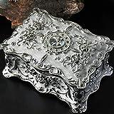 JJZXD La Caja de joyería, Exquisita y Noble, no se desvanece, no se oxida, solía Poner Joyas. (Color : B)