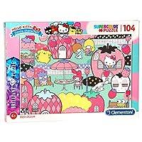 1723 ハローキティ ジグソーパズル パズル 104ピース  Hello Kitty Puzzle [並行輸入品]