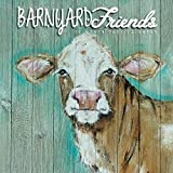 Barnyard Friends 2021 12 x 12 Inch Monthly Square Wall Calendar by Hopper Studios, Rural Country Art
