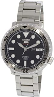 5 Sports 100m Automatic 'Bottle Cap' Steel Watch SRPC61K1