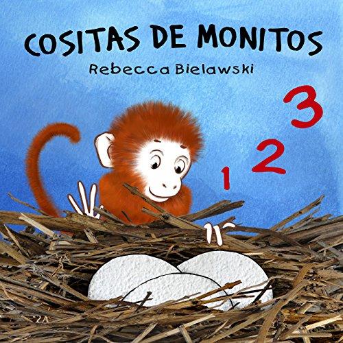 Portada del libro Cositas de monitos de Rebecca Bielawski