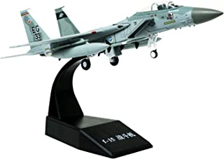 HANGHANG 1/100 Scale F-15 Eagle Fighter Attack Plane Metal Fighter Military Model Fairchild Republic Diecast Plane Model for Commemorate Collection or Gift