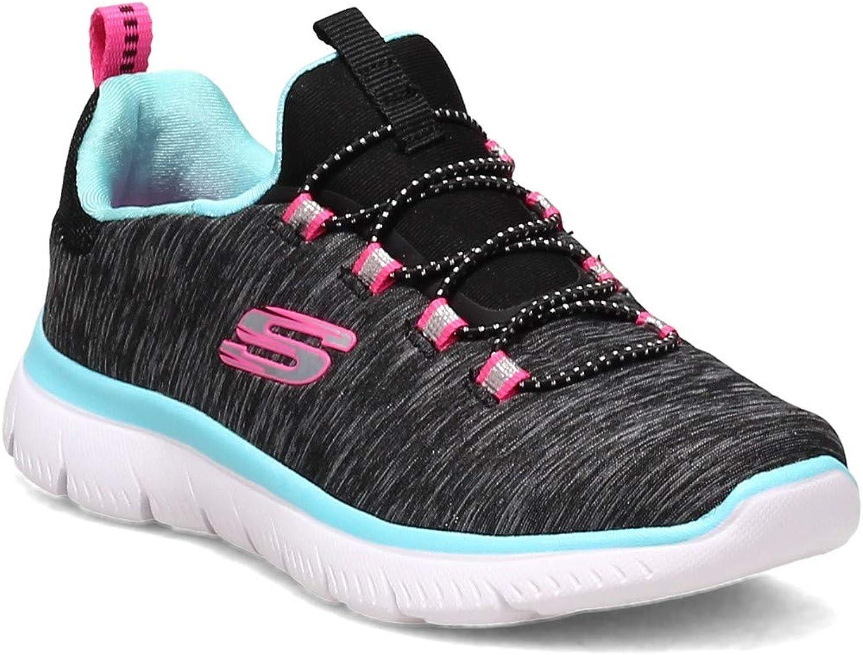 Skechers Girl's, Summits - Quick Getaway Sneaker - Little Kid