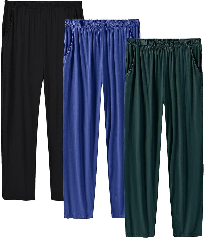 Reservation MoFiz Men's Pajama Pants Ultra Soft Modal Knit PJ Jersey Bottom New arrival