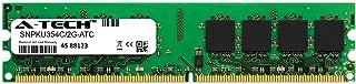 A-Tech 2GB Replacement for Dell SNPKU354C/2G - DDR2 667MHz PC2-5300 Non ECC DIMM 2rx8 1.8v - Single Desktop & Workstation Memory Ram Stick (SNPKU354C/2G-ATC)