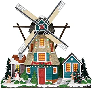 Lemax Village Collection Windmill Set of 2 Battery Operated # 25333