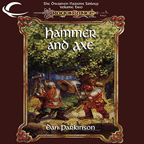 Hammer and Axe audiobook cover art