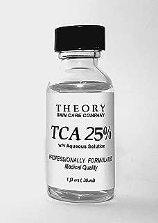 Trichloroacetic Acid TCA 25% Chemical Peel-1 fl oz (30ml) Bottle, Medical Grade, Wrinkles, Fine Lines, Freckles, Scars, Age spots