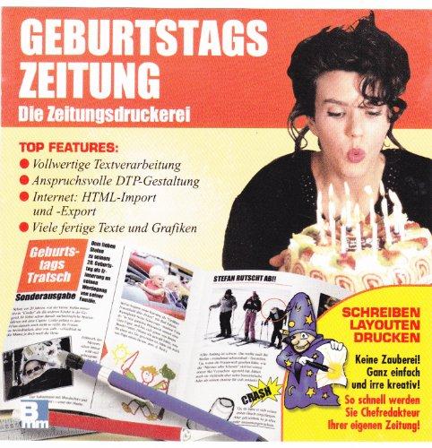 Geburtstagszeitung, Die Zeitungsdruckerei, 1999 (JewelCase)