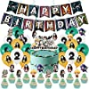 鬼滅の刃 誕生日パーティーデコレーションセット テーマは子供の誕生日です パーティー happy birthday 旗を掲げる アニメキャラクター バースデーケーキの旗 ラテックスバルーン(セット)