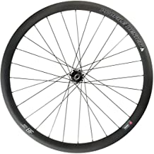 Profile Designs 38/TwentyFour Full Carbon Clincher Bicycle Wheel - Rear
