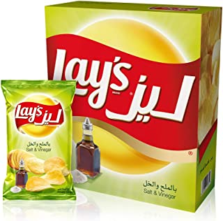 Lay's Salt & Vinegar Potato Chips 23 gm x 14