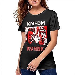 SeanDouglas Womans KMFDM Tops Shirt Casual Youth Girls Tshirts