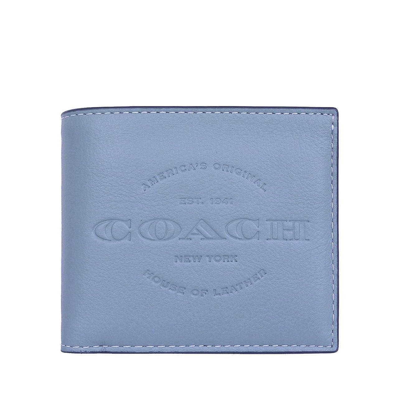 めまい農夫業界[コーチ] COACH 財布 (二つ折り財布) F24647 レザー 二つ折り財布 メンズ レディース [アウトレット品] [並行輸入品]