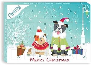 PetPäl Hunde Adventskalender 2019 | DIE leckersten Snacks & Leckerli für deinen Hund zu Weihnachten | Gesunde Leckerlie zum Advent - Getreide- & Glutenfrei | Ohne Zucker & Künstliche Farbstoffe