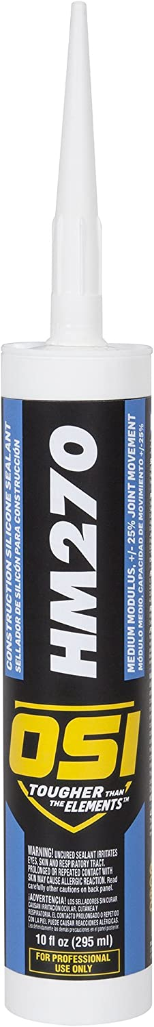 OSI HM270 Beauty products Clear Silicone Construction 10-Fluid Car Sealant Ounce At the price