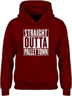 Indica Plateau Straight Outta Pallet Town Hoodie for Kids