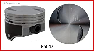 Enginetech P5047(8)STD Piston GM 7.4L 454 Flat Top Coated HYPER