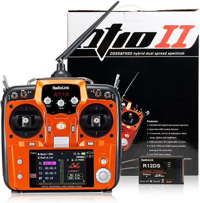 Rc helicopter receiver setup