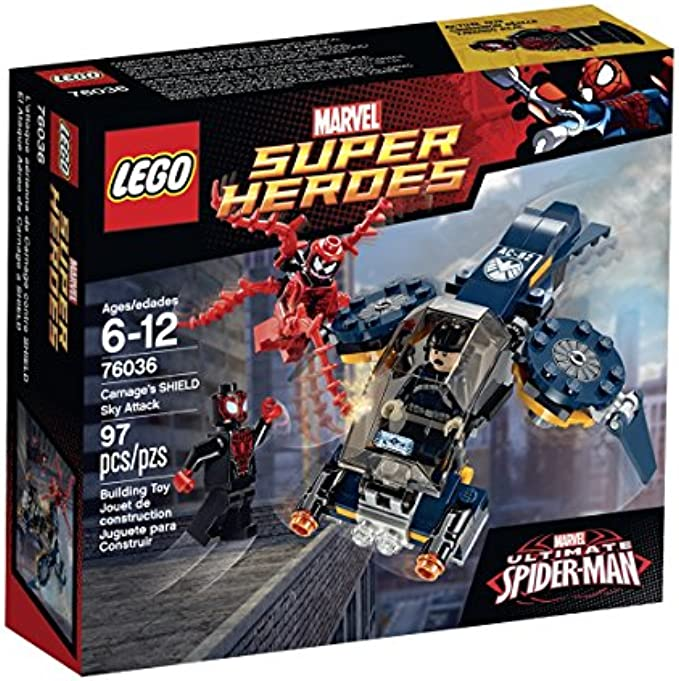 LEGO Superheroes 76036 Carnage's Shield Sky Attack Building Kit