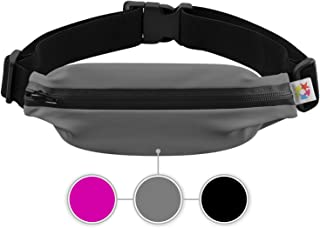 5 STARS UNITED Running Belt Fanny Pack for Phone - Waist Pouch for Runners – Adjustable Belt - Flexible and Stretchy - for Men and Women