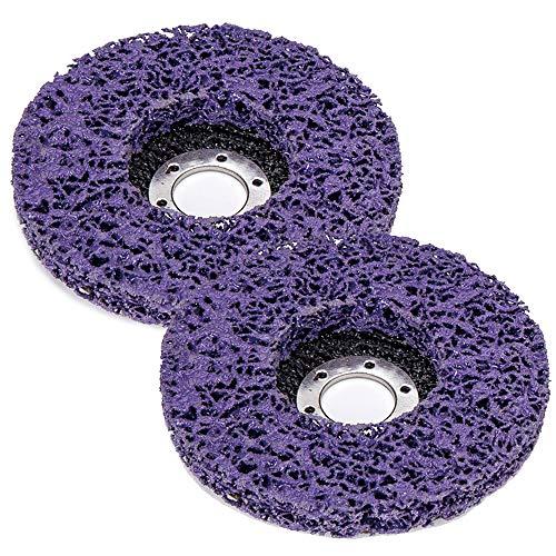 Disco IWILCS CSD Discos abrasivos de 125 mm para amoladoras angulares Disco de limpieza Discos abrasivos Eliminador de óxido Disco de limpieza grueso Disco de tela de nailon para amoladoras angulares