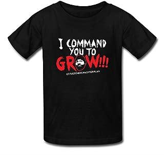 NESTH CT Fletcher I Command You to Grow Men's Short Sleeve Tee Shirt