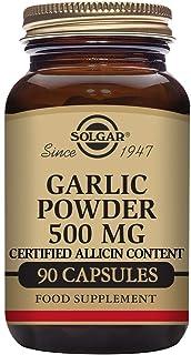 Solgar Ajo en Polvo 500 mg Cápsulas vegetales - Envase de 90